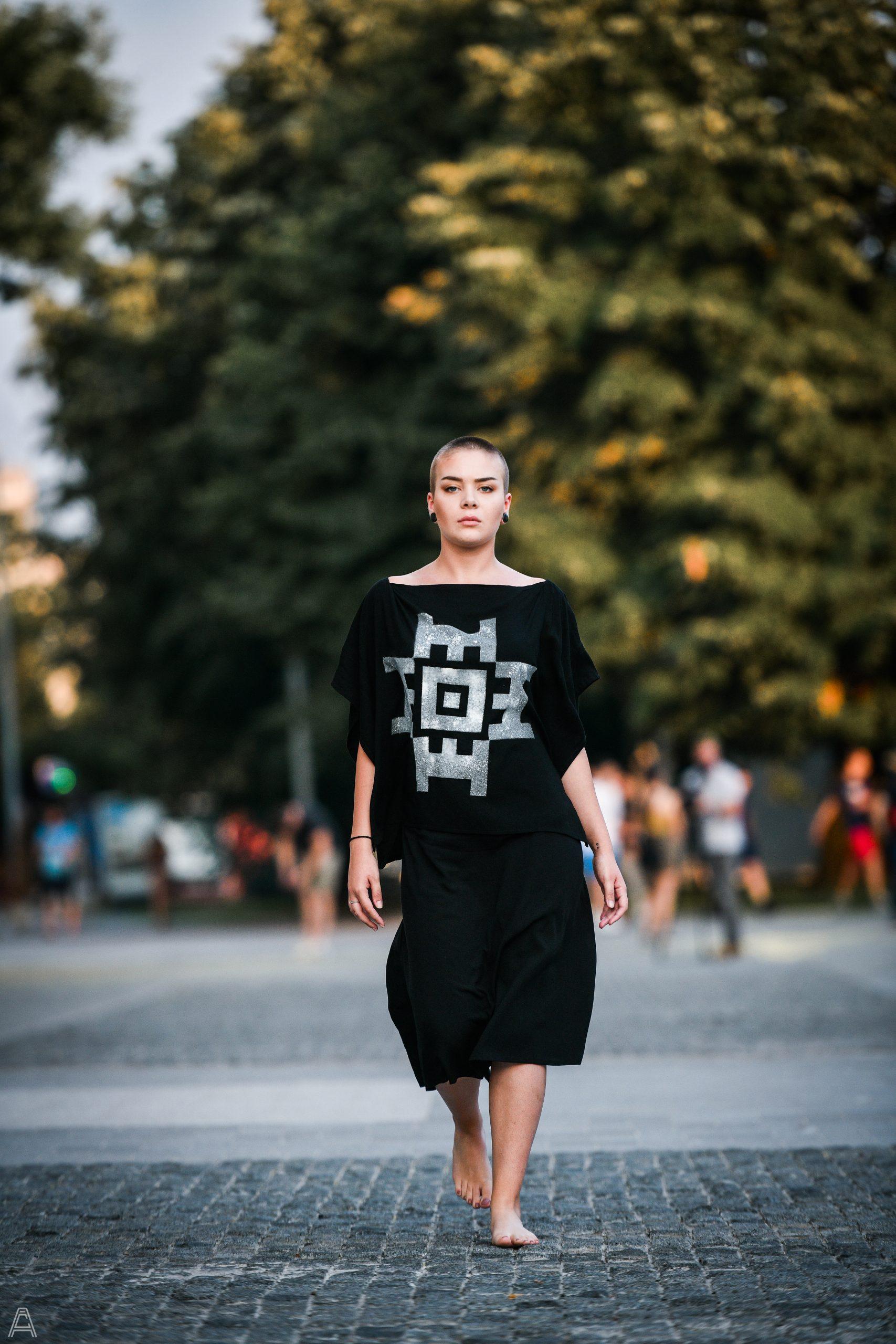IMAGINARIUM Studio ZMIJANJE.design collection runaway / photo: Aleksandar Čavić / model: Lejla Handukić