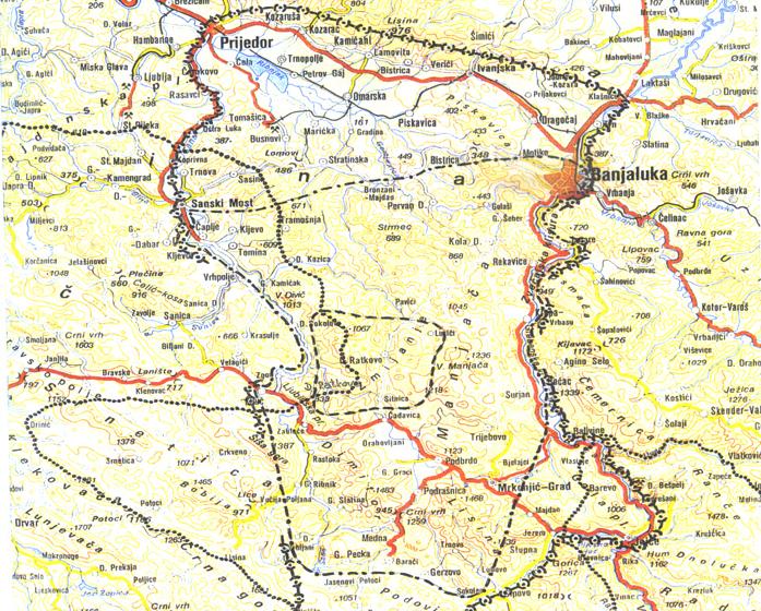 Географски положај Змијања | 2007 | Ирена Медар-Тањга